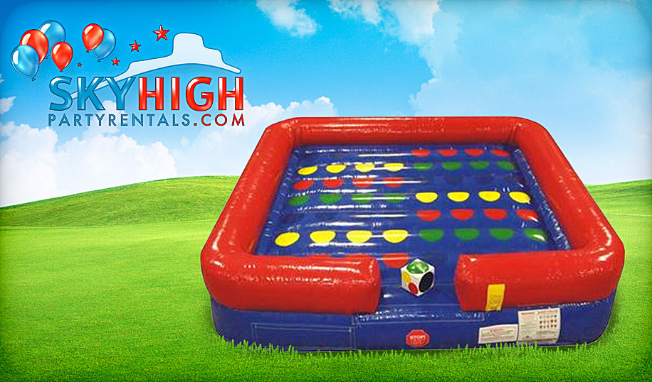 giant inflatable twister rental houston