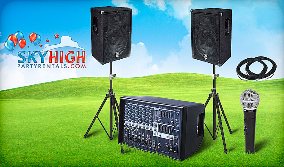 Audio Sound system rental