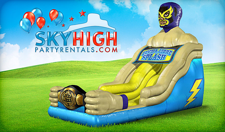 adult water slide rentals houston