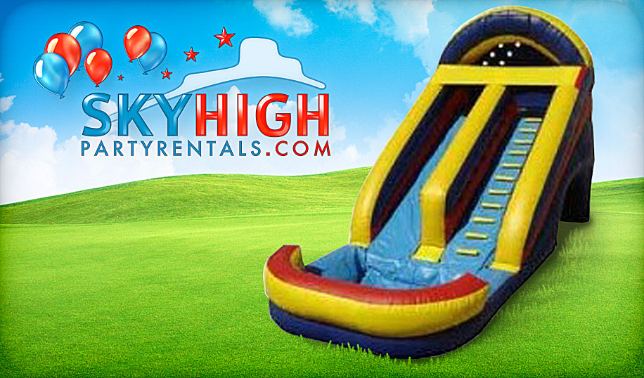 15ft water slide rental