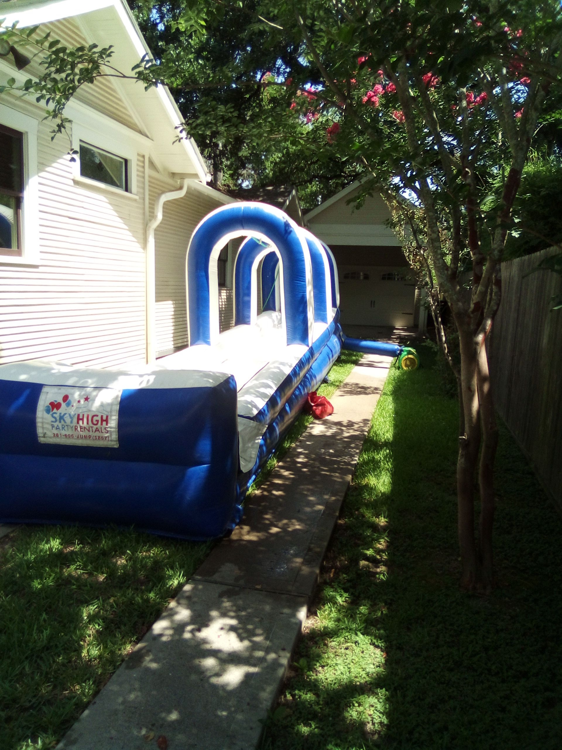 3D super slip wet slide