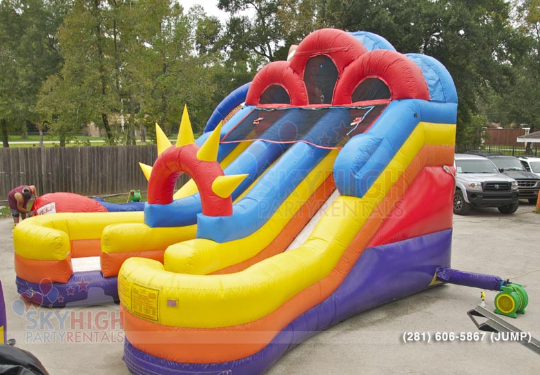 inflatable slides for rent Houston
