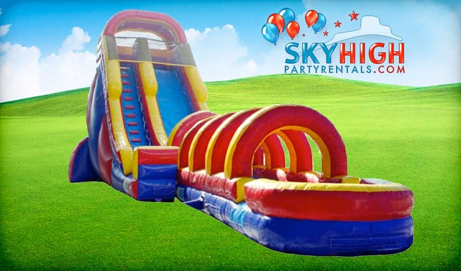 Giant Inflatable Water Slide Rental