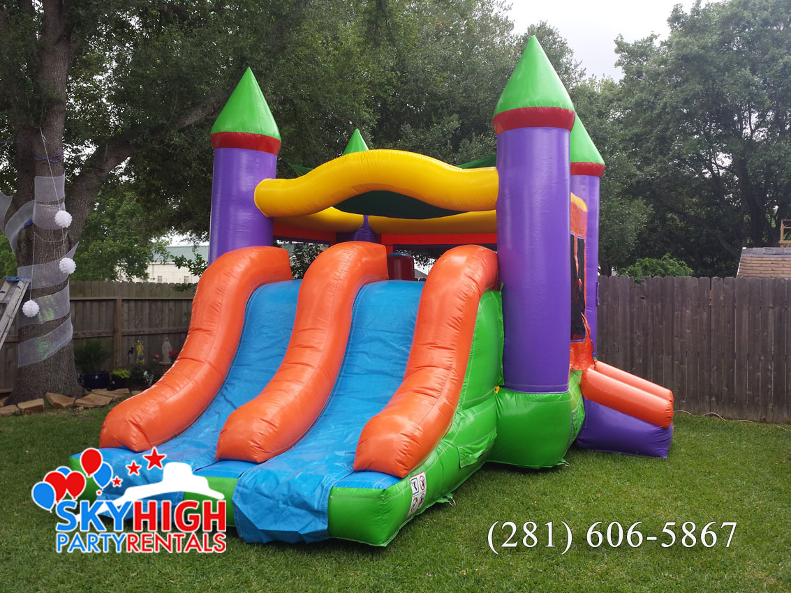 Colorful Houston Bounce House