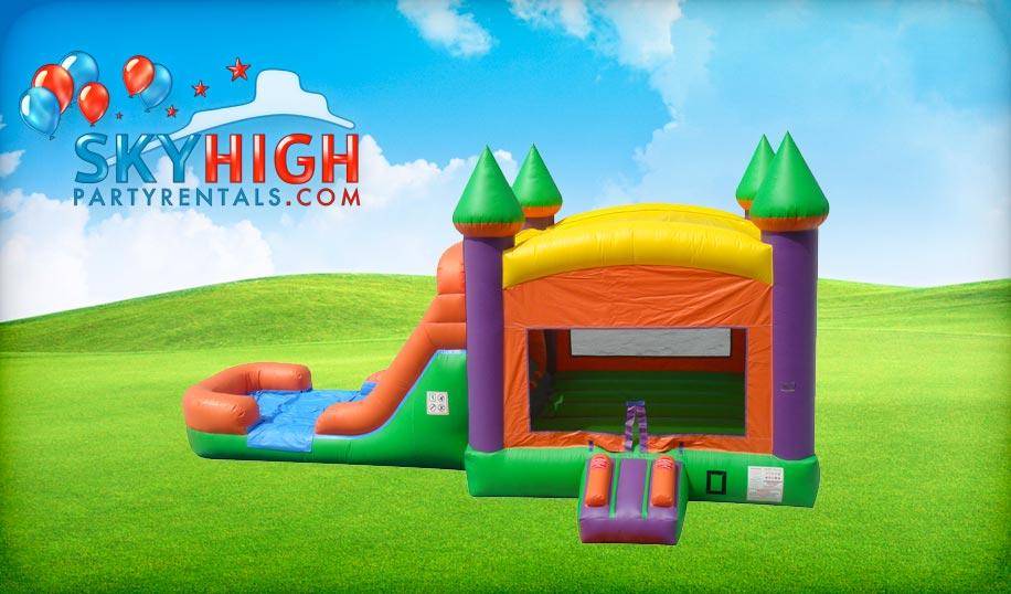 Combo Bounce House Slide