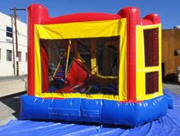 Left Side View of 4in1 Inflatable