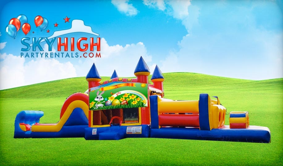 50ft Easter Theme Bounce House Rentals