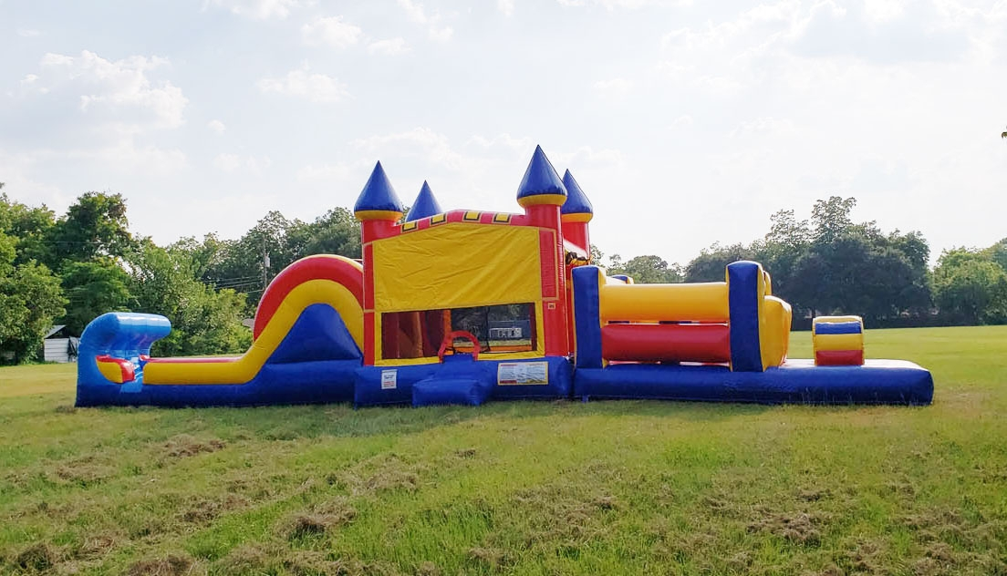50ft Obstacle Course Rentals Party