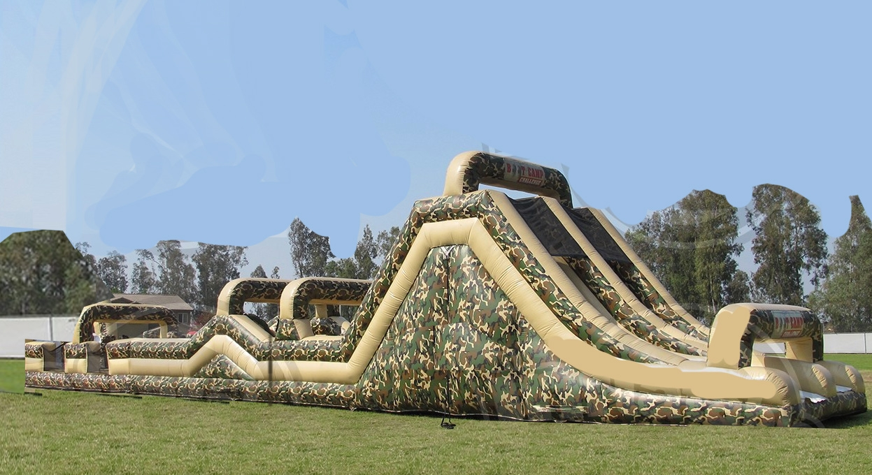 70ft Black Ops Obstacle Course
