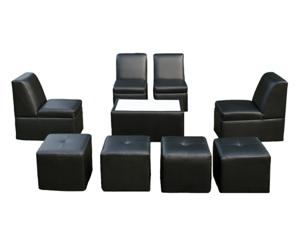 8 Person Lounge Furniture Set Rentals