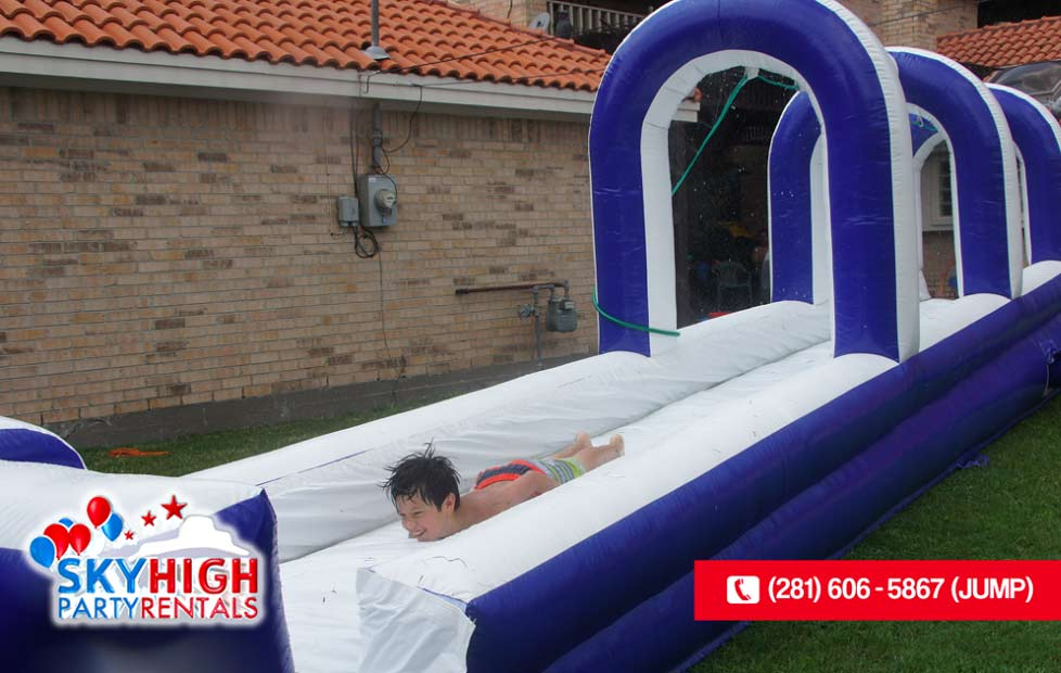 Children's water slide