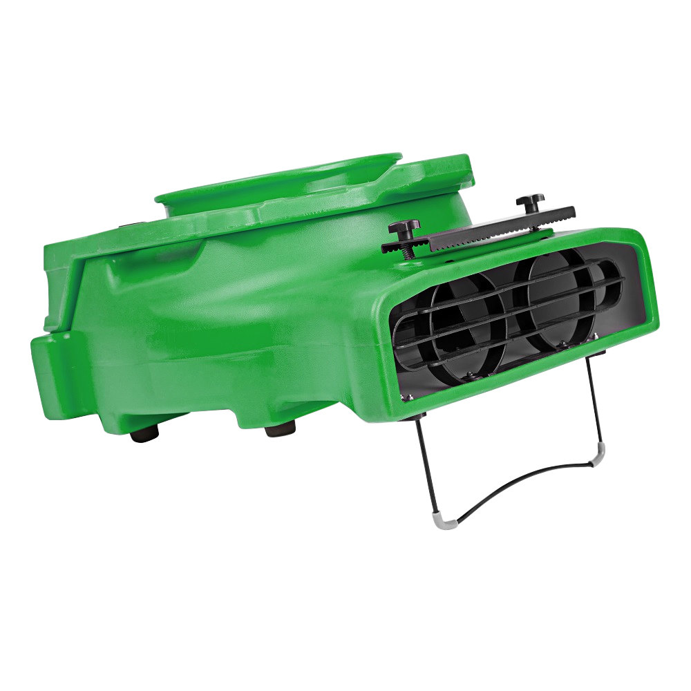 Green B-air Blower Carpet Blower
