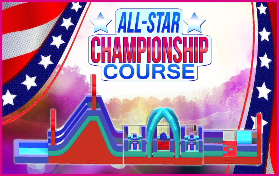 All Stars Inflatable Obstacles