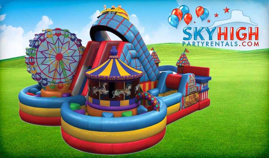 Astroworld Bounce House