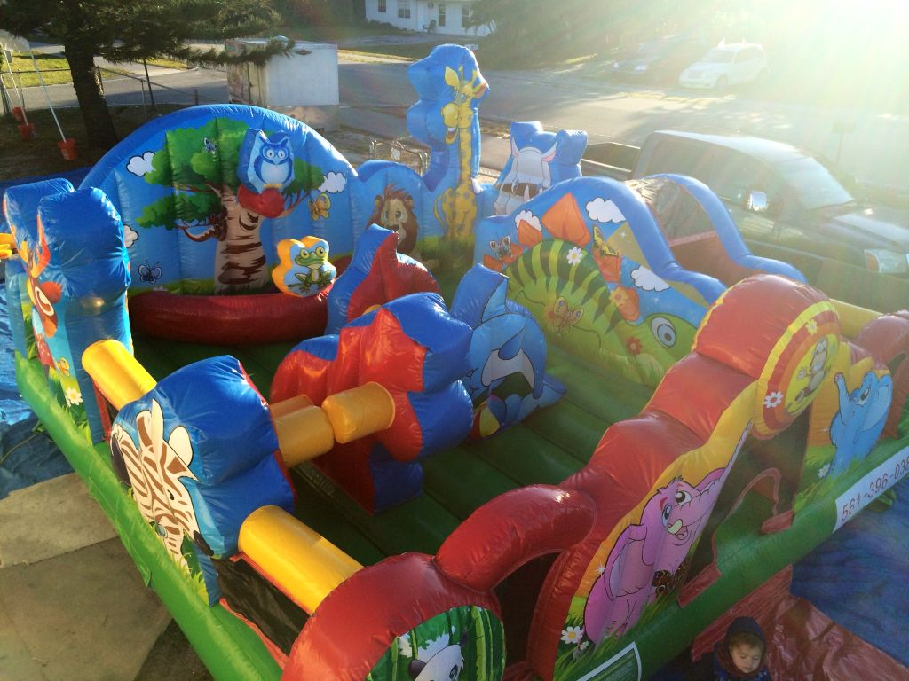 Animals Toddler Elephant Bouncy Castle