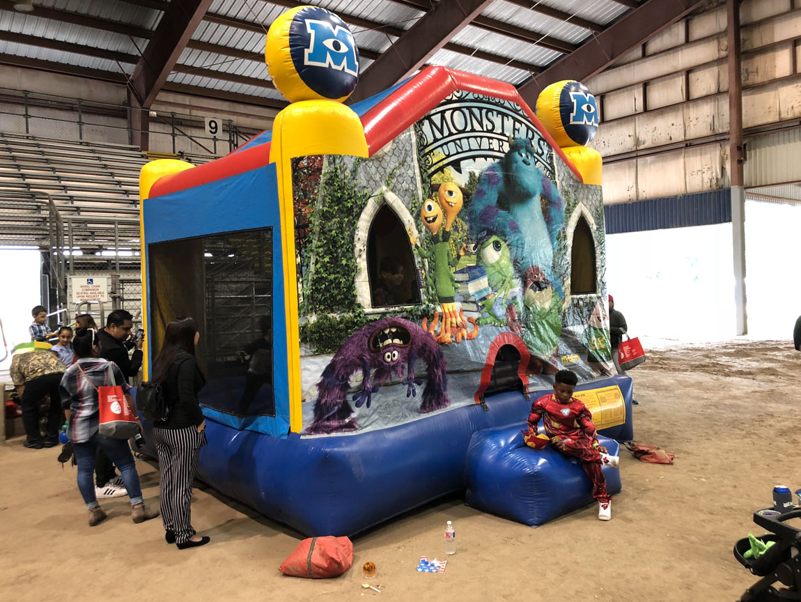 Monsters University Bounce House