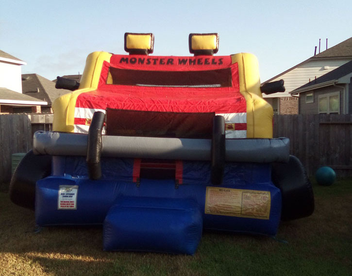Austin Monster Truck jump house