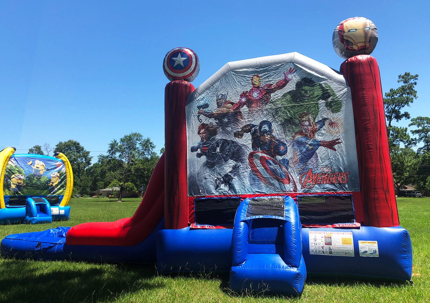Avengers Bounce House Rentals Houston