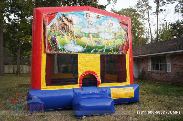 ballerina dancer bounce house