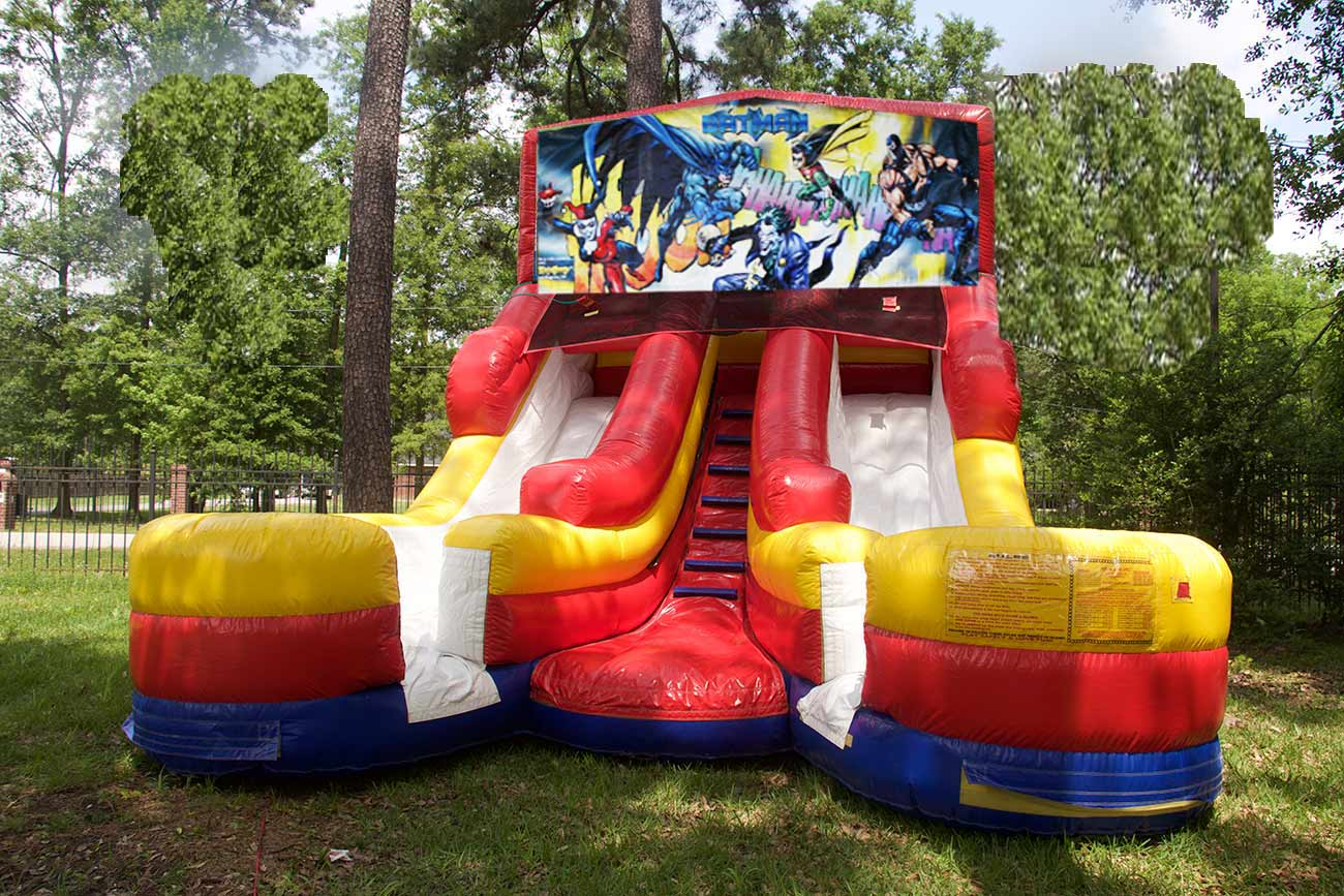 16ft Batman Kids Party Rental Slide