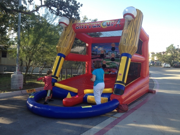 Batters Up Carnival Game Inflatable