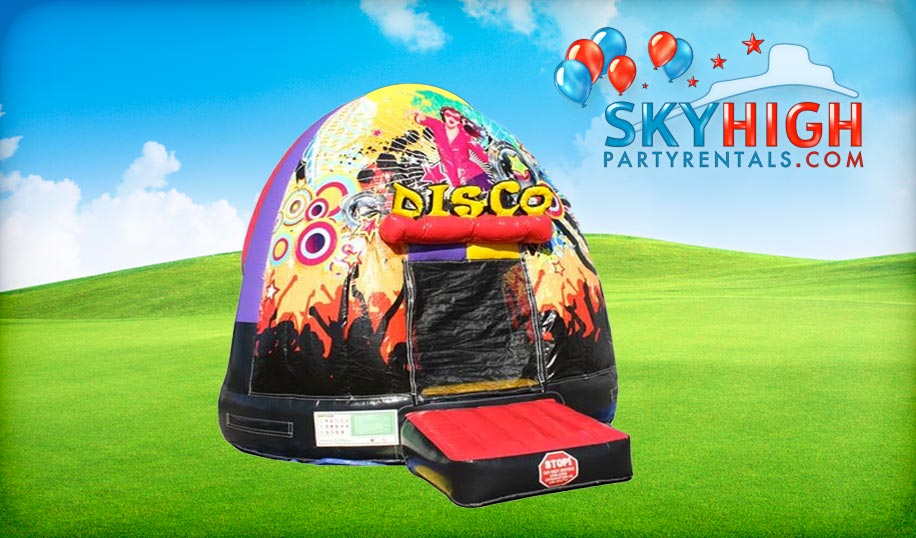Disco Dome Inflatable Party Rentals