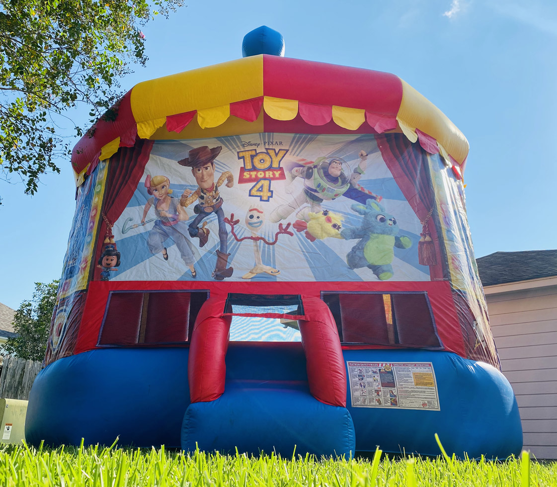 Childrens Toy Story 4 Bounce House Rentals