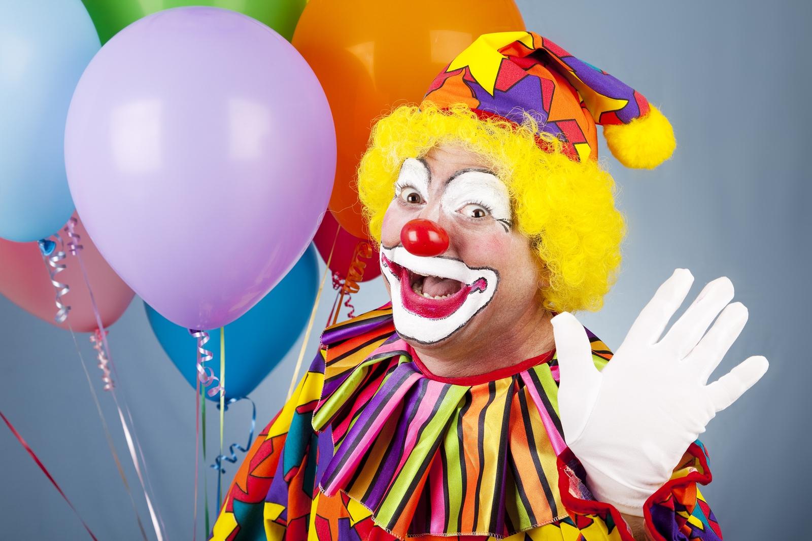 Hire Funny Clowns Near Me Birthday Party Clowns Sky