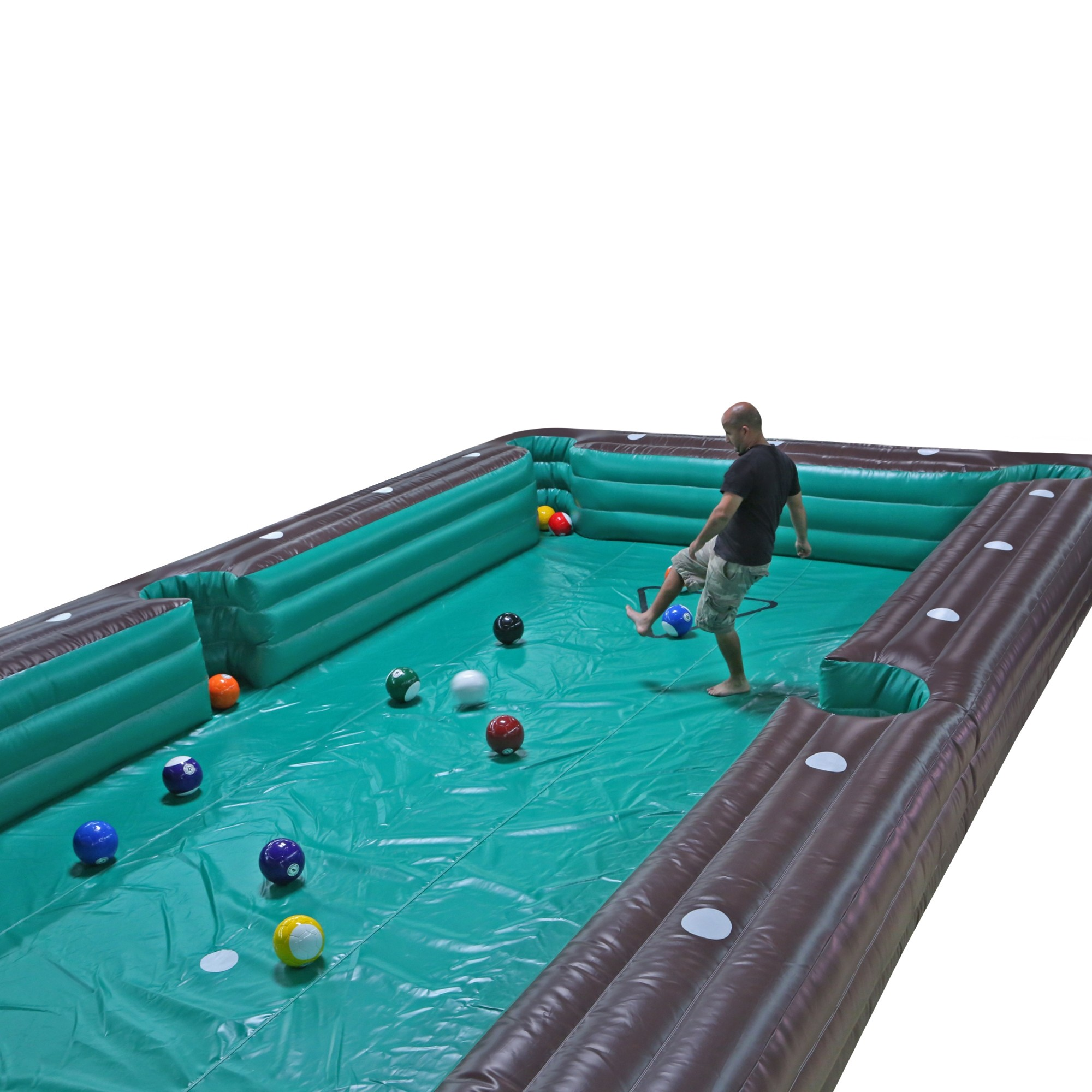 Pool Table Soccer Human Billiard