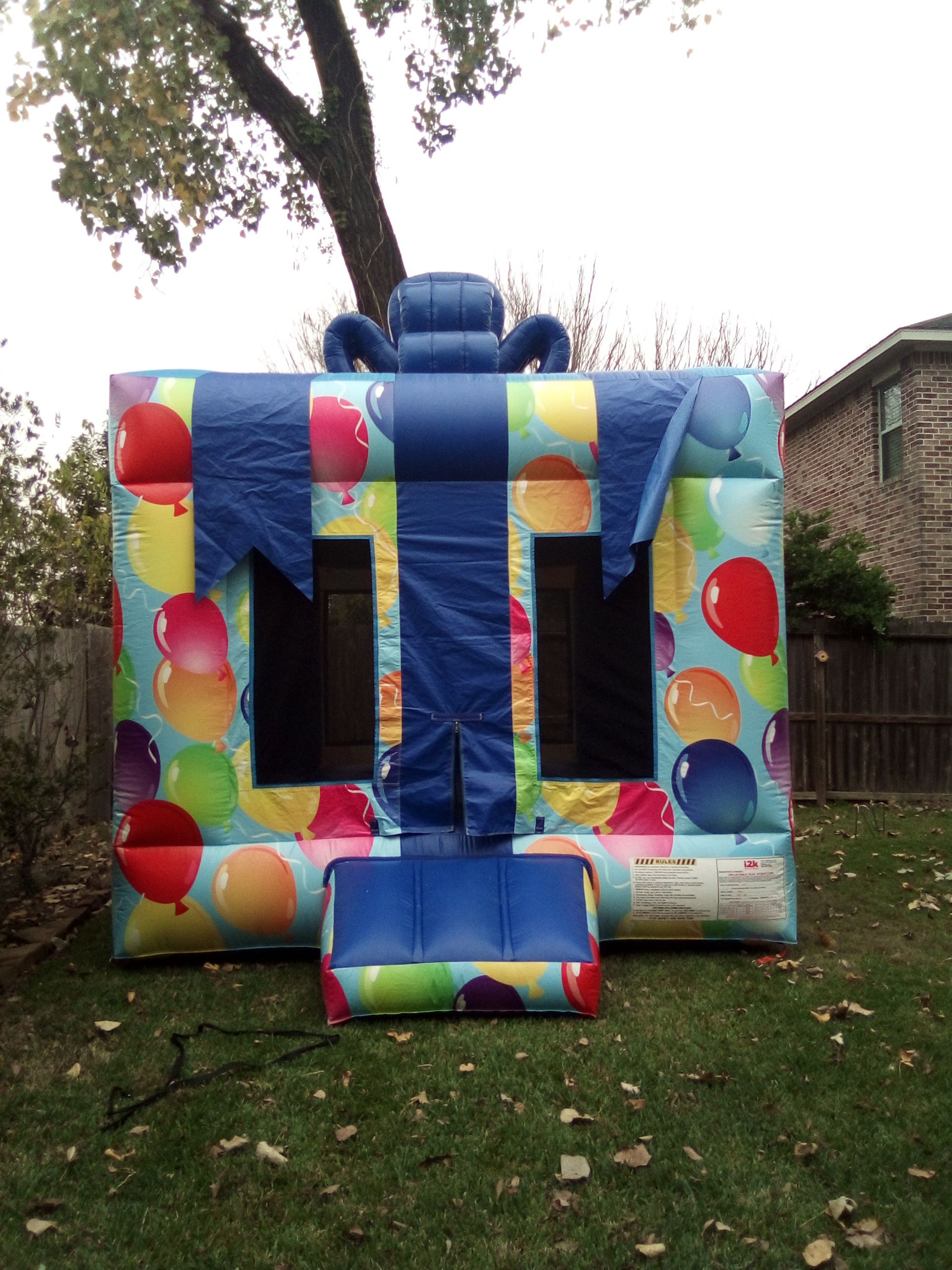 Birthday Gift Shaped Bouncer