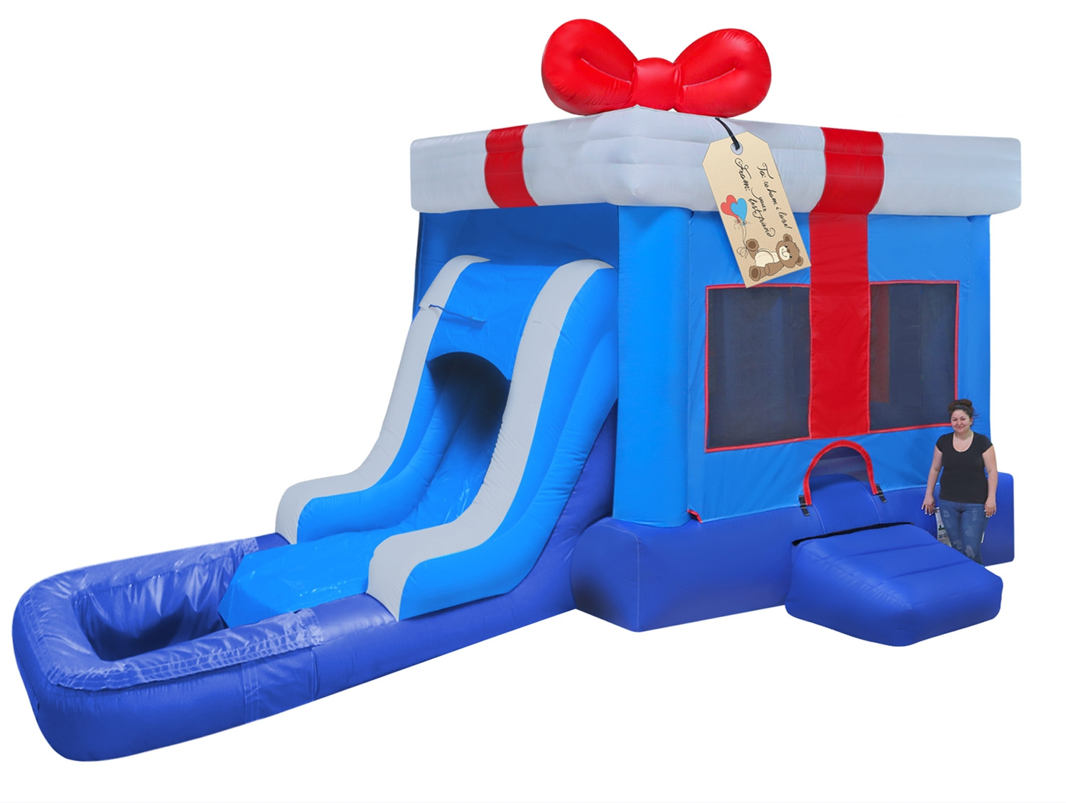 Birthday Gift Box Water Slide Rentals