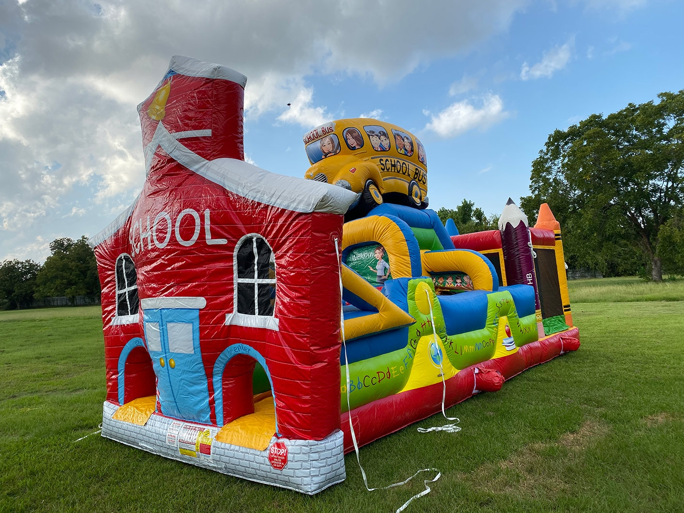 School Building Inflatable