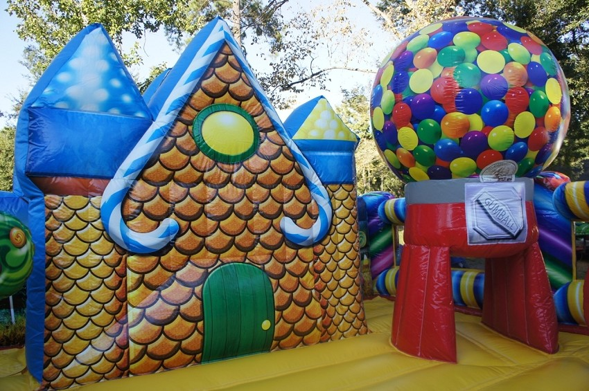 Ginger Bread Gumball Kids Party Rentals