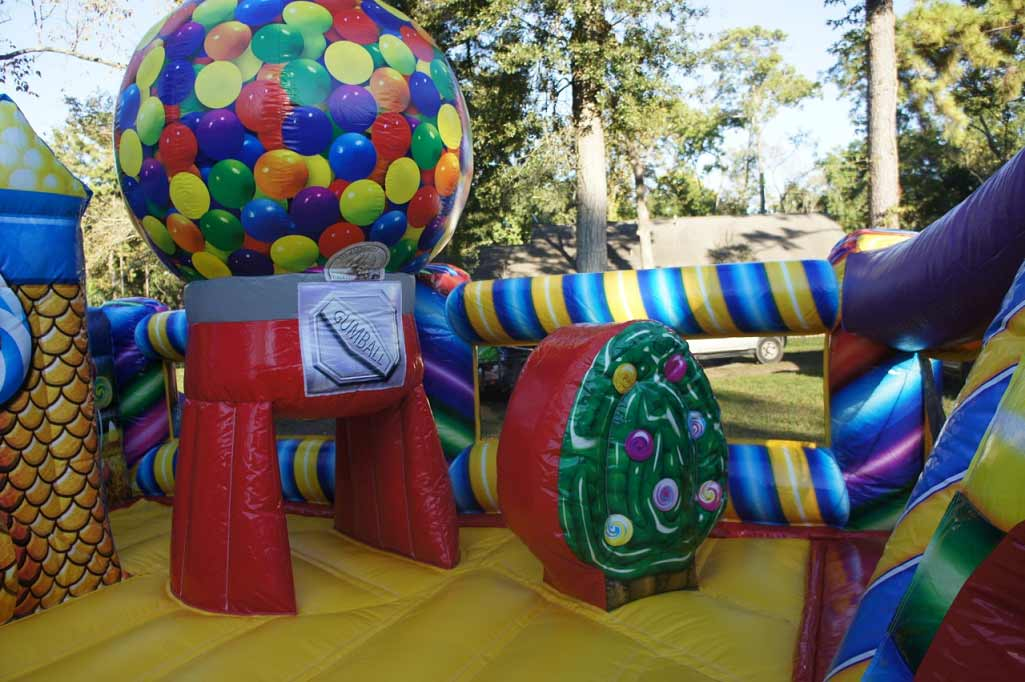 Inflatable Gumball Party Rental