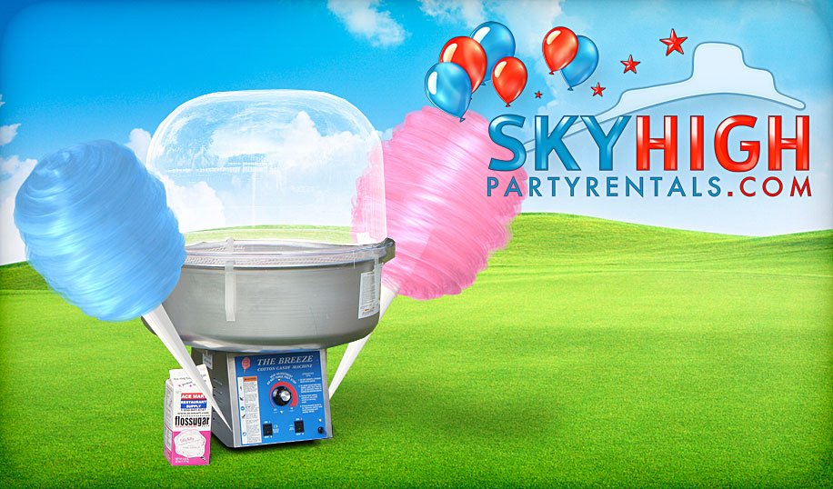 cotton candy machine rentals houston