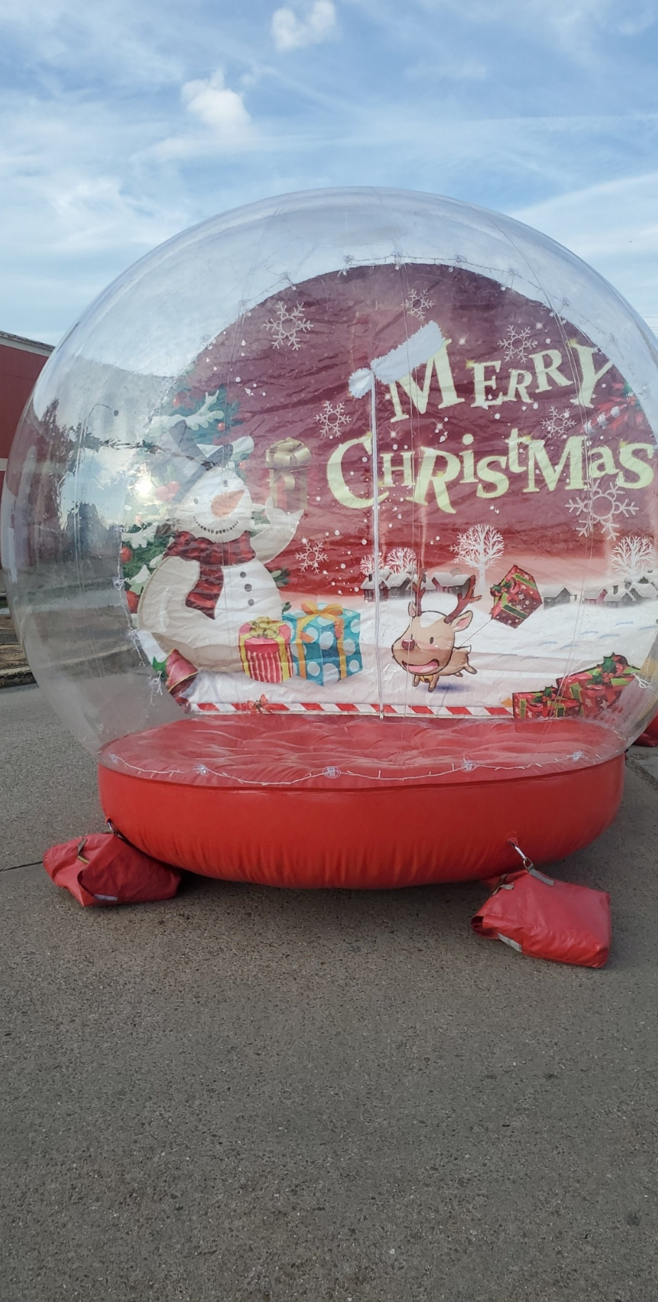 Snow Globe Christmas Party Rentals