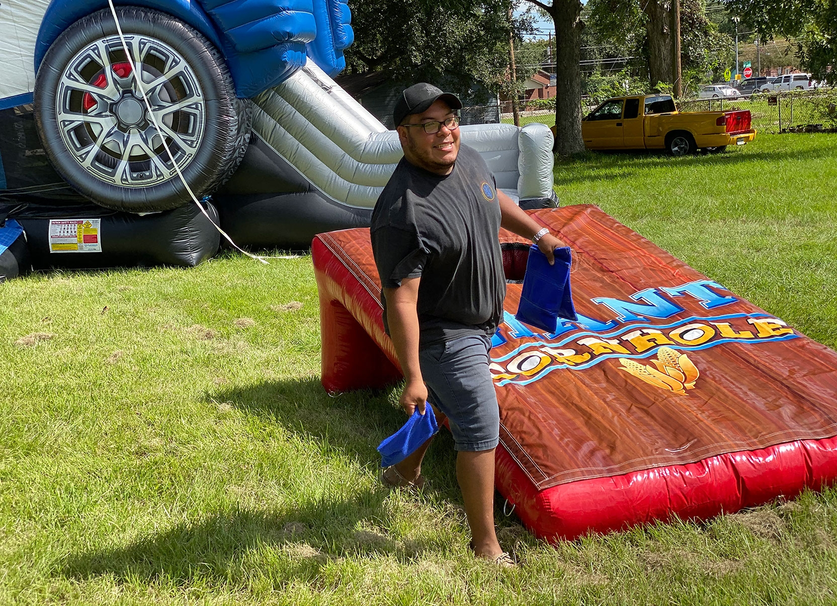 Corn Hole Huge Inflatable