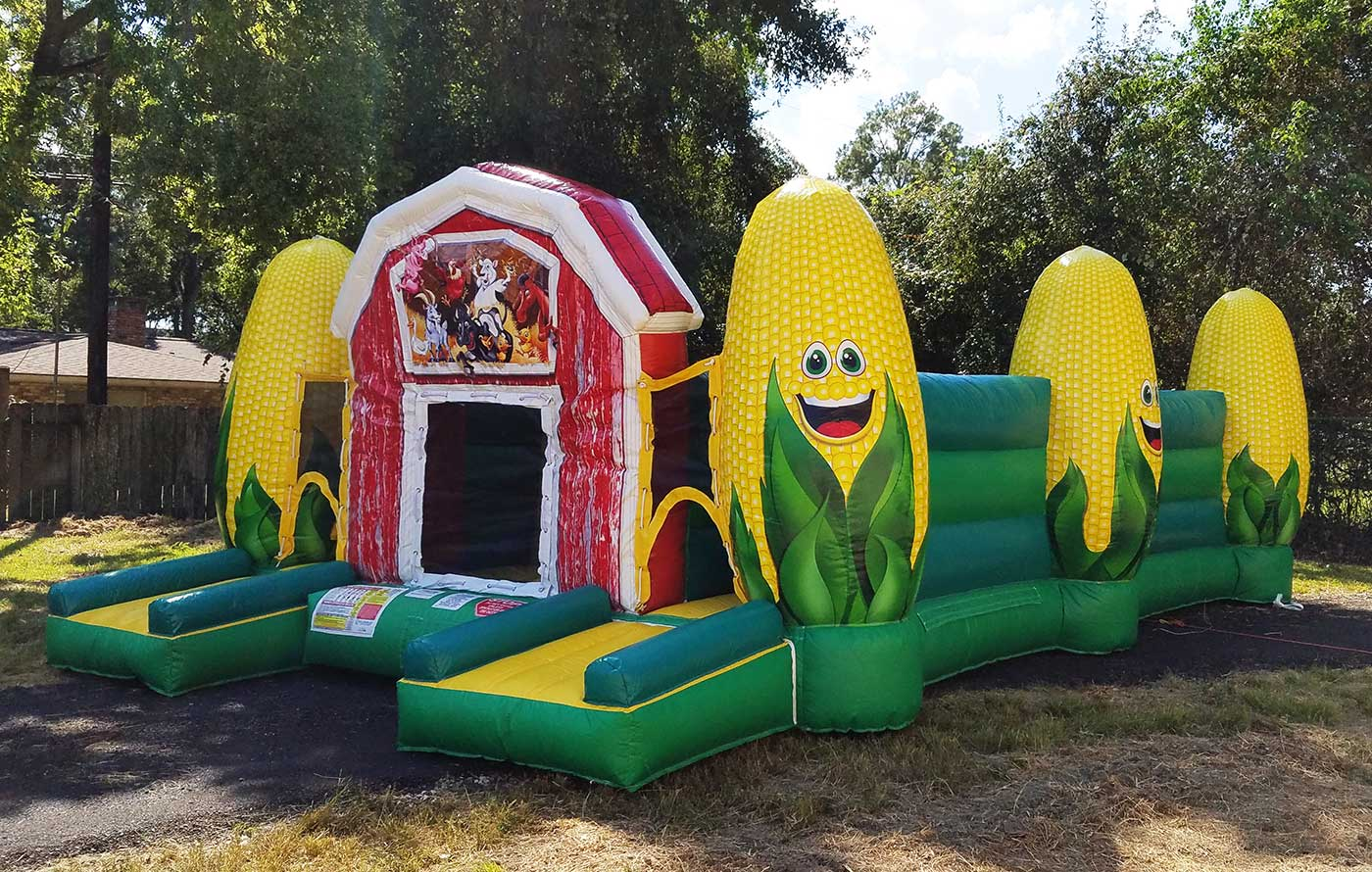 Corn Maze Inflatable Party Rentals