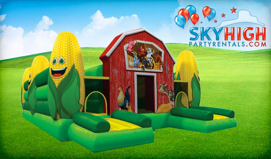 Corn Maze Inflatable Bounce House Rentals