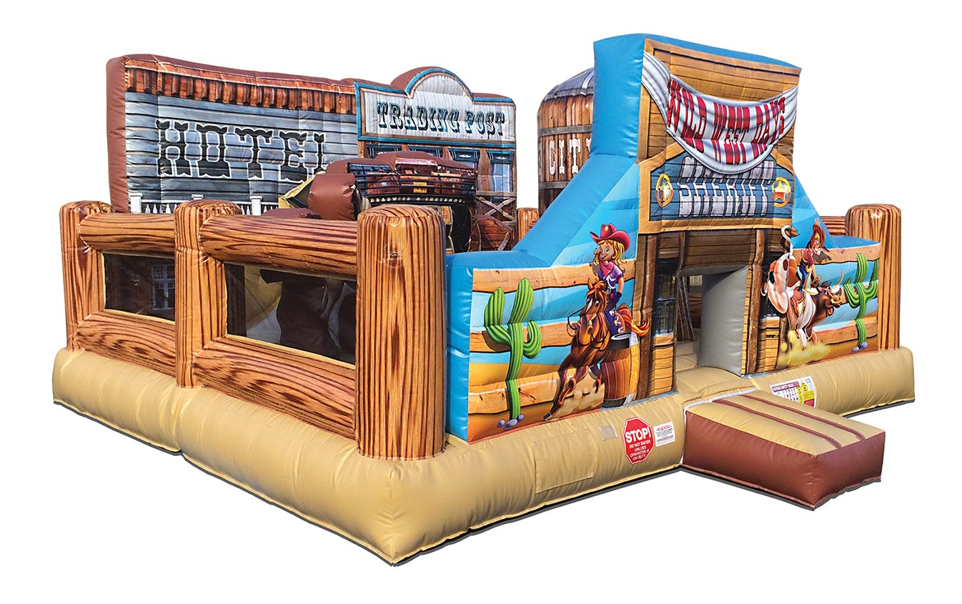 Western Cowboy Bounce House Rentals