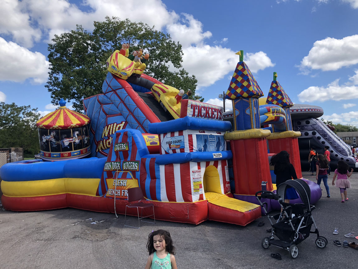 Amusement Park Bounce House Dallas