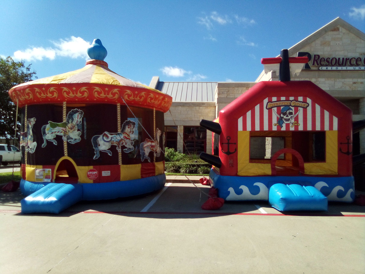Pirates Adventure Galley Bounce House