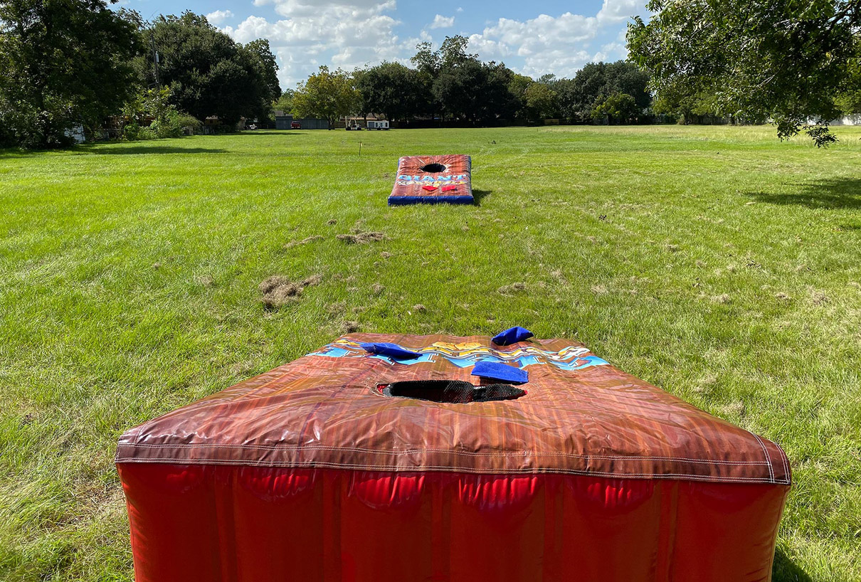 Giant Corn Hole Carnival Game