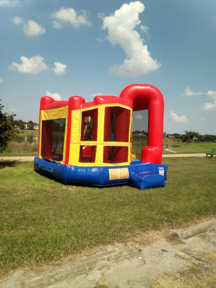 4in1 Bounce House Moonwalk