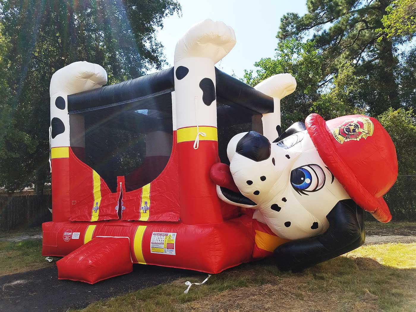 Dallas-dalmation-bounce-houses-for-rent