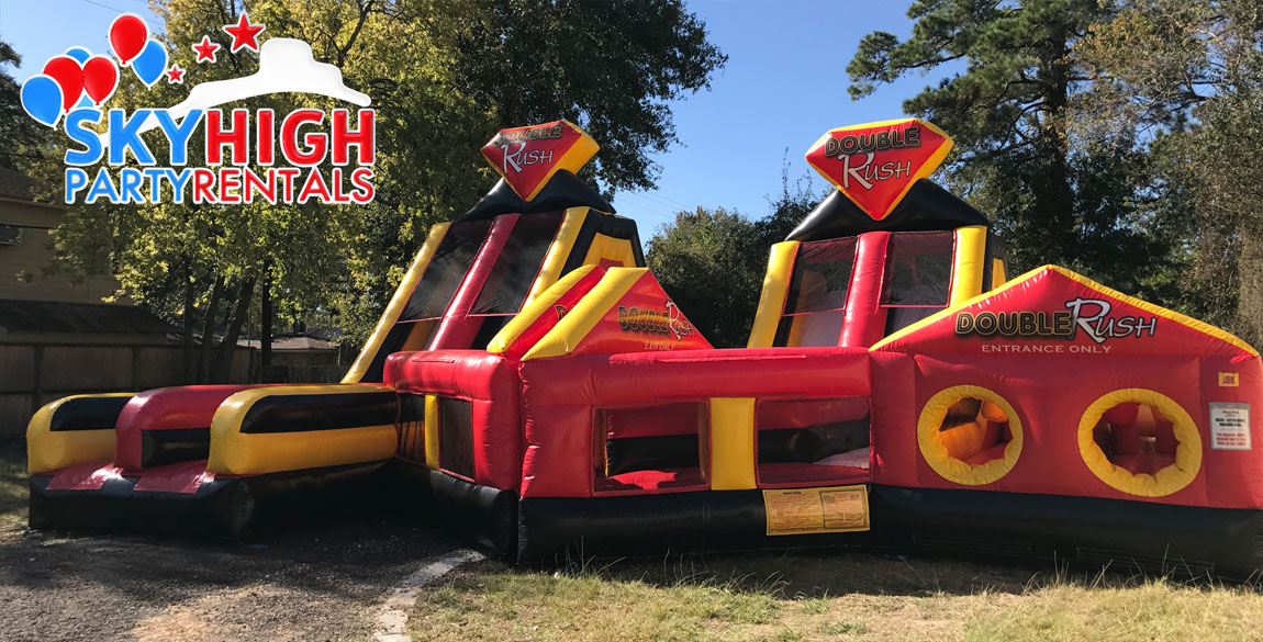 Double Giant Bounce House