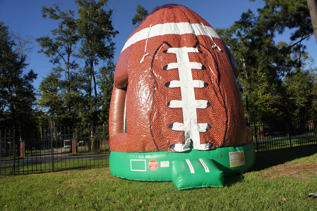 Football bounce house rental inflatable