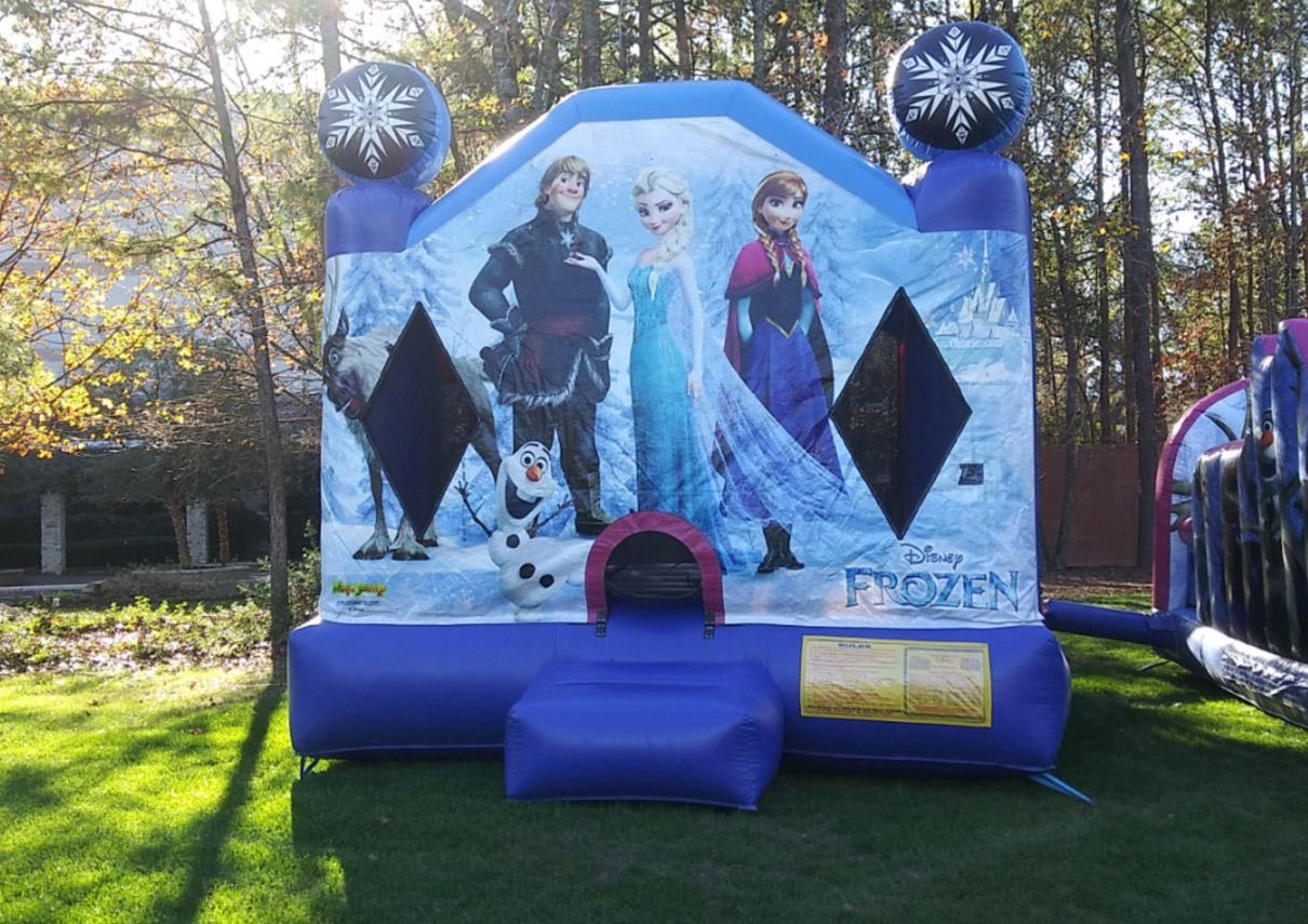 Frozen Bouncehouse