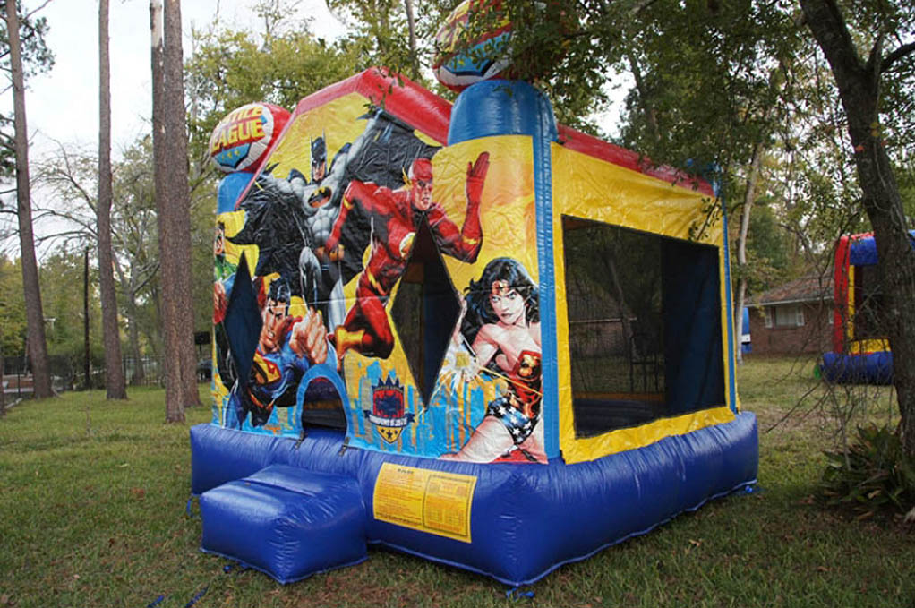 Justice League Bouncy Castles Arlington, TX