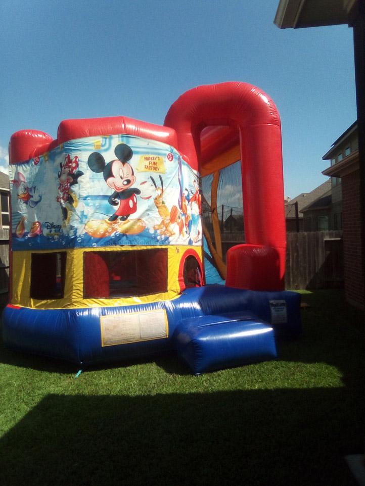 4in1 Bounce House Moonwalk